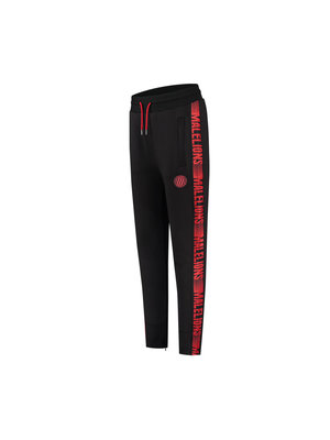 Malelions Sport Sport Striker Trackpants - Black/Neon Red