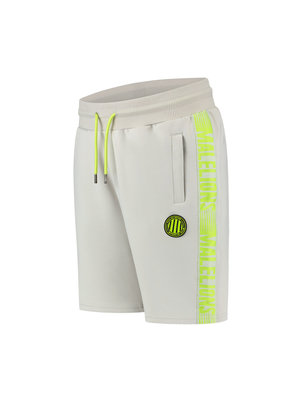 Malelions Sport Sport Striker Short - Grey/Lime