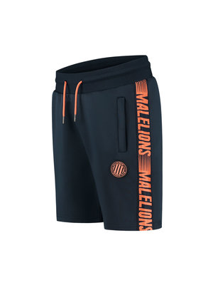 Malelions Sport Sport Striker Short - Navy/Salmon