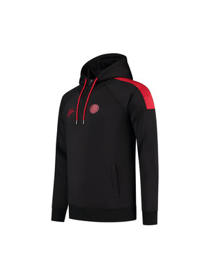 Malelions Sport Sport Striker Hoodie - Black/Neon Red