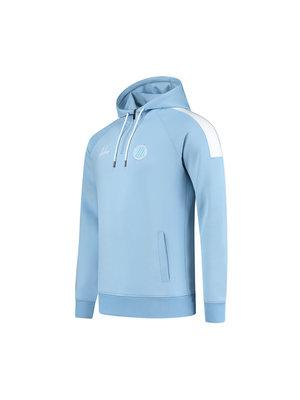 Malelions Sport Sport Striker Hoodie -Light Blue/White