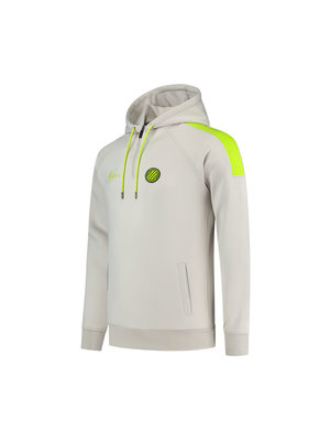 Malelions Sport Sport Striker Hoodie - Grey/Lime