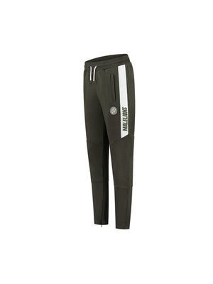 Malelions Sport Sport Coach Trackpants - Army/White