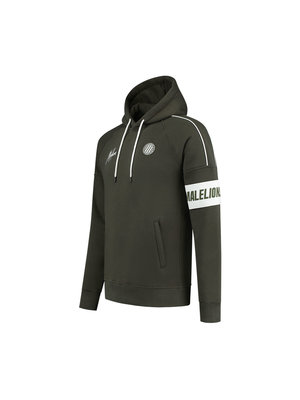 Malelions Sport Sport Coach Hoodie - Army/White