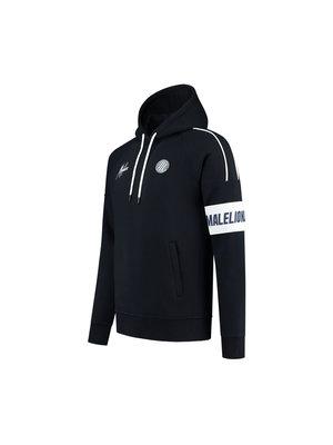 Malelions Sport Sport Coach Hoodie - Dark Navy/White