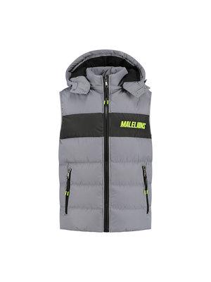 Malelions Sport Sport Nium Bodywarmer - Grey/Lime