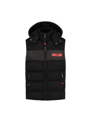 Malelions Sport Sport Nium Bodywarmer - Black/Neon Red
