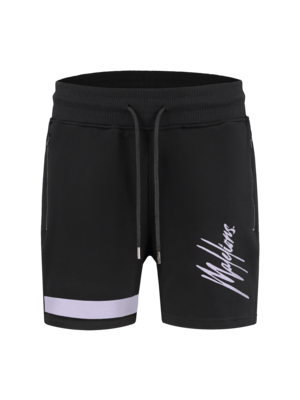 Malelions Junior Junior Pablo Trackshort - Black/Purple