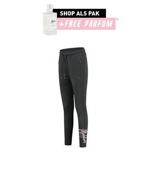 Malelions x Eddy's Malelions X Eddy's Women Signature Trackpants - Dark Antra/Pink