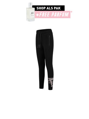 Malelions x Eddy's Malelions X Eddy's Women Signature Trackpants - Black/Pink
