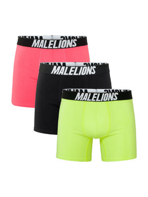 Malelions Boxer 3-Pack - Tricolore