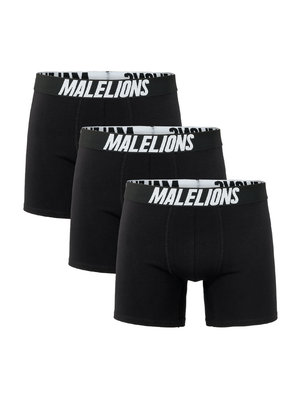 Malelions Boxer 3-Pack - Black