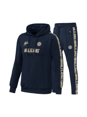 Malelions Sport Sport Tracksuit Warming Up - Navy/Gold