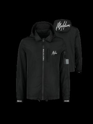 Malelions Noah Windbreaker - Black/White