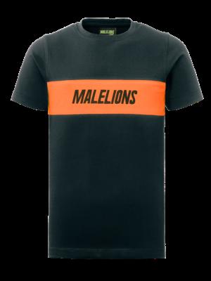 Malelions Junior Junior Uraenium T -Shirt - Antra/Orange