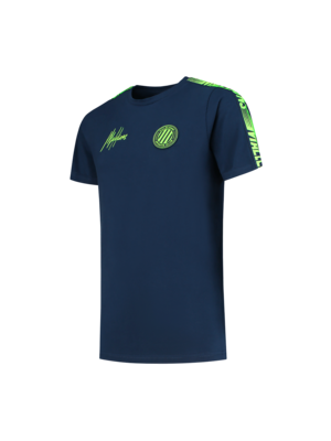Malelions Junior Junior Homekit T-Shirt - Navy/Green