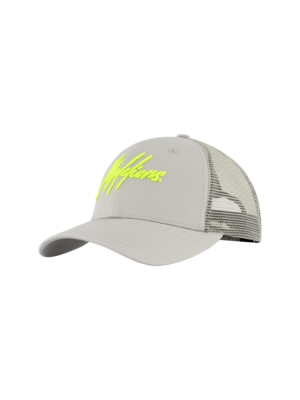 Malelions Sport Sport Signature Cap - Grey/Lime