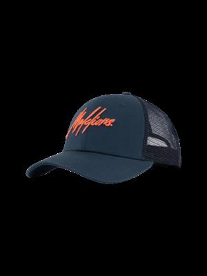 Malelions Sport Sport Signature Cap - Navy/Salmon