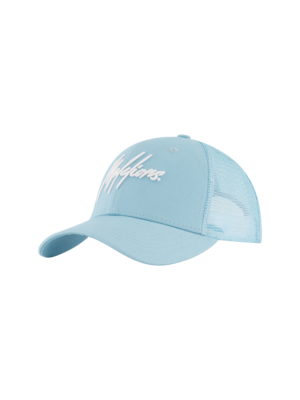 Malelions Sport Sport Signature Cap - Light Blue/White