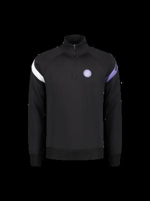 Malelions Sport Sport Pre-Match Quarterzip - Black/Purple