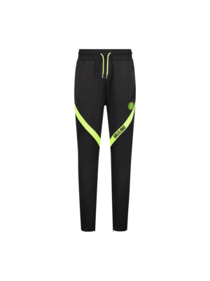 Malelions Sport Sport Pre-Match Trackpants - Black/Neon Yellow