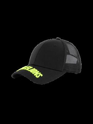 Malelions Sport Sport Uraenium Cap - Black/Neon Yellow