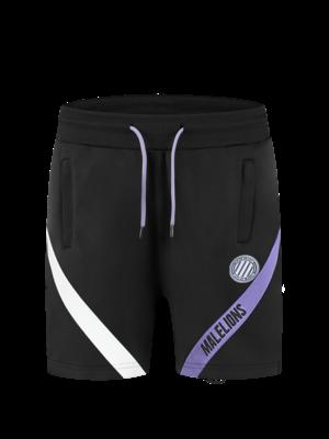 Malelions Sport Sport Pre-Match Short - Black/Purple