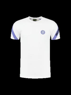 Malelions Sport Sport Pre-Match T-Shirt - White/Purple