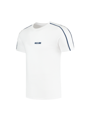 Malelions Sport Sport Coach T-Shirt - Dark Navy/White