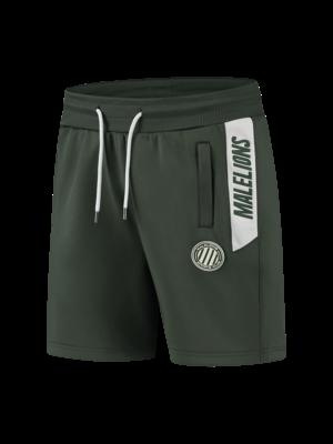 Malelions Sport Sport Coach Short - Army/White