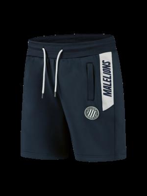 Malelions Sport Sport Coach Short - Dark Navy/White