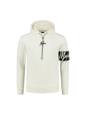 Malelions Captain Hoodie - Off-White/Black
