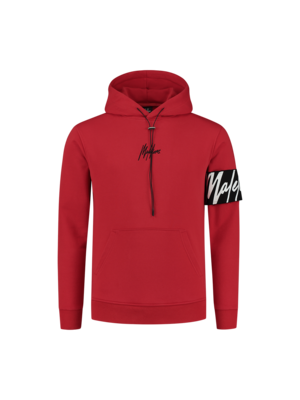 Malelions Captain Hoodie - Red/Black