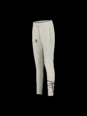 Malelions Women Women Captain Trackpants - Beige/Black