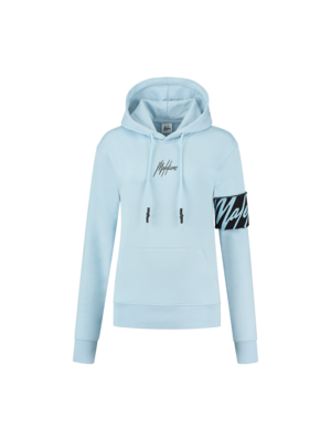 Malelions Women Women Captain Hoodie - Light Blue/Antra