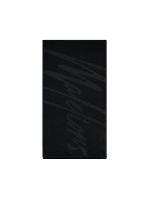 Malelions Beach Towel - Black/Black