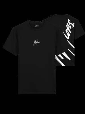 Malelions Men Firma T-Shirt - Black/White