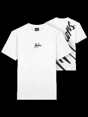 Malelions Men Firma T-Shirt - White/Black