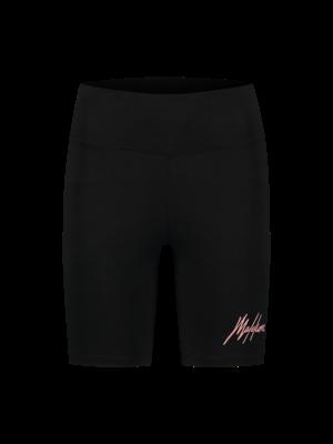 Malelions Women Women Biker Short - Black/Pink