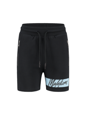 Malelions Women Women Captain Short - Antra/Light Blue