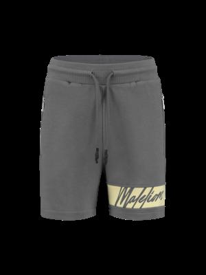 Malelions Women Women Captain Short - Matt Grey/Yellow