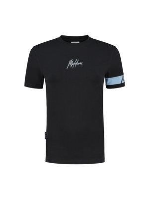Malelions Women Women Captain T-Shirt - Antra/Light Blue