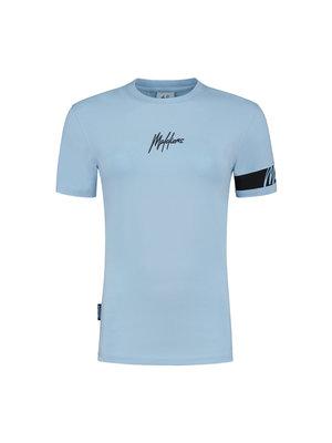 Malelions Women Women Captain T-Shirt - Light Blue/Antra