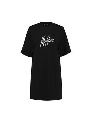 Malelions Women Women Lou T-Shirt Dress - Black/Pink