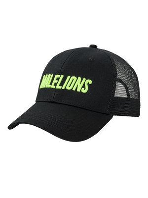 Malelions Malelions Sport Cap Cursief - Black/Neon Yellow