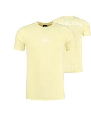 Malelions Malelions Gyzo T-Shirt - Soft Yellow