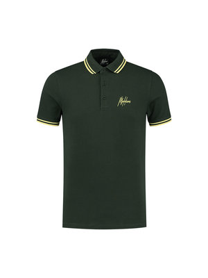 Malelions Din Polo - Army/Yellow