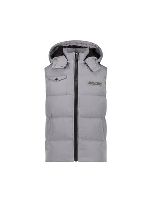 Malelions Pocket Bodywarmer - Light Grey