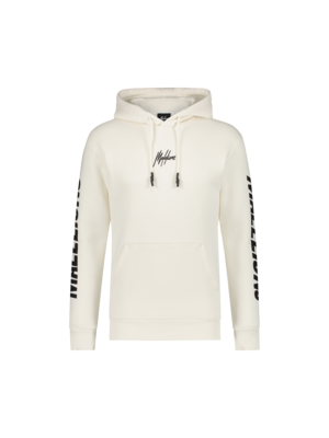 Malelions Lective Hoodie - White/Off-White