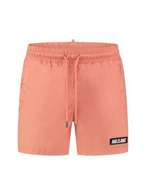 Malelions Nium Patch Swimshort - Peach